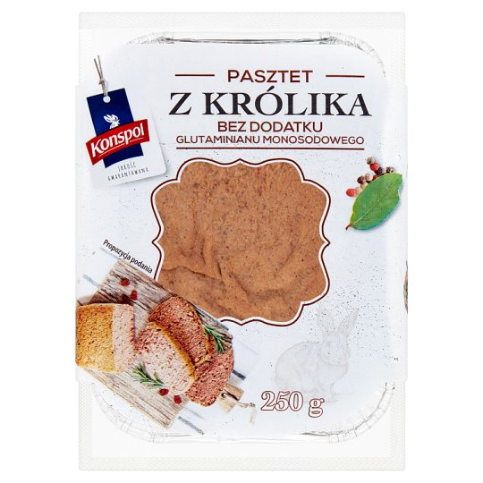 Konspol Rabbit Paté 250 g