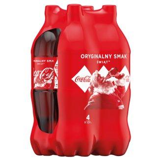 Coca-Cola Drink 4 x 1.5 L
