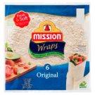 Mission Wraps Original Wheat Flour Tortilla 370 g (6 Pieces)