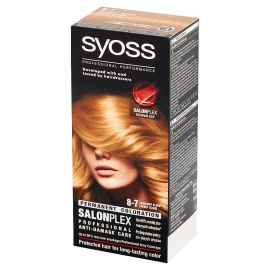 Syoss SalonPlex Farba do włosów miodowy blond 8-7