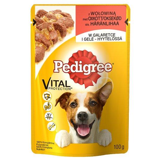 Pedigree Vital Protection Karma pełnoporcjowa z wołowiną w galaretce 100 g