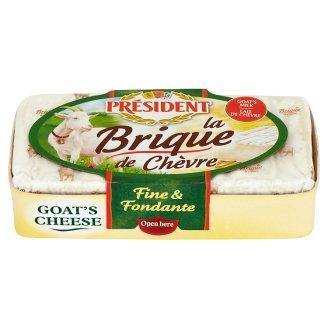 Président La Brique de Chèvre Goat's Milk Mould Cheese 150 g