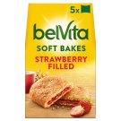 belVita Breakfast Ciastka zbożowe z nadzieniem truskawkowym 250 g