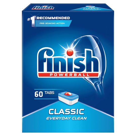 Finish Classic Dishwasher Detergent in Tabs 978 g (60 Pieces)