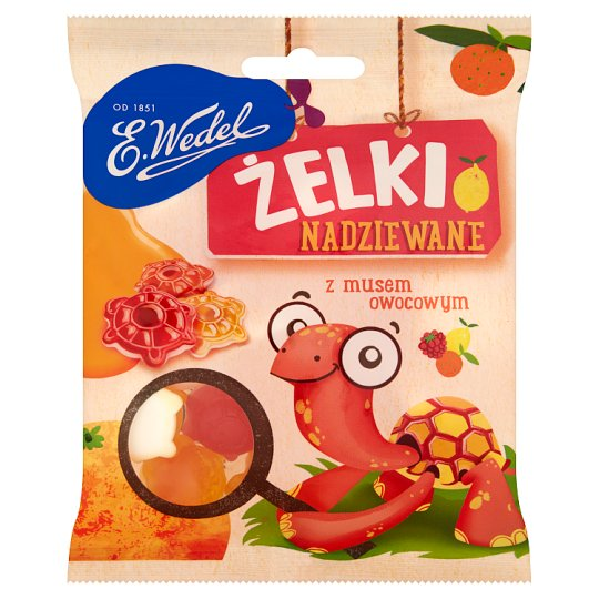 E. Wedel Fruit Jellies with Filling 90 g