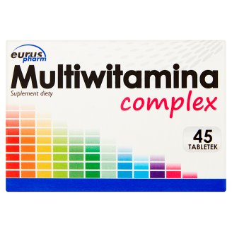 Multivitamin Complex Dietary Supplement 31.5 g (45 Tablets)