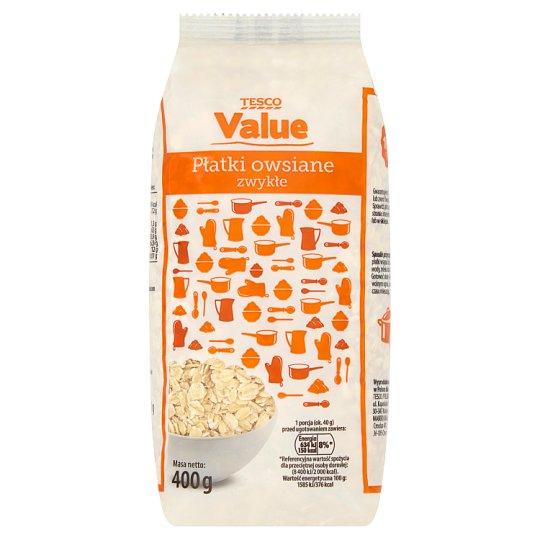 Tesco Value Regular Oatmeal 400 g