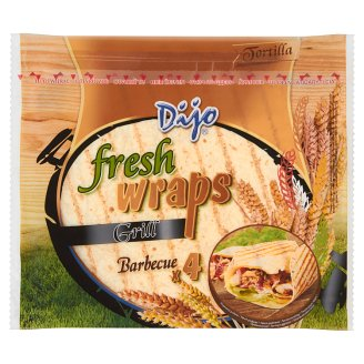 Dijo Tortilla Grilled Wheat Flatbread 250 g (4 x 62,5 g)
