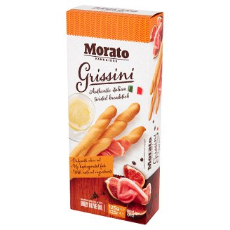 Morato Grissini Paluszki chlebowe z oliwą z oliwek 125 g