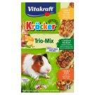 Vitakraft Kräcker Trio-Mix Compound Pet Food for Guinea Pigs 168 g (3 Pieces)