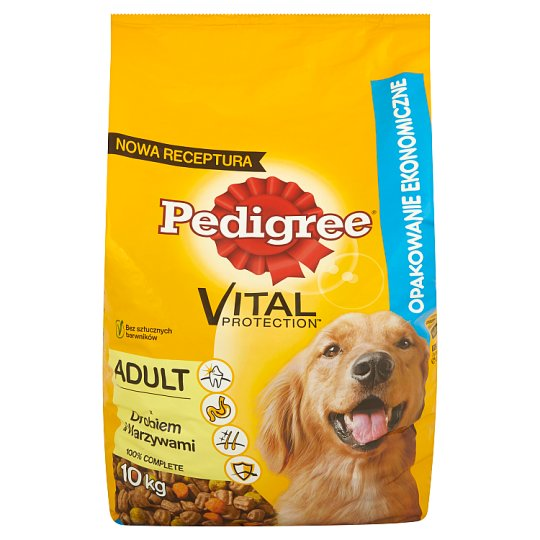 Pedigree Vital Protection Adult with Poultry & Vegetables Complete Food 10 kg