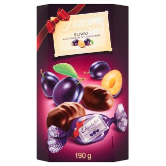 Charlotte Candied Plums in Chocolate 190 g