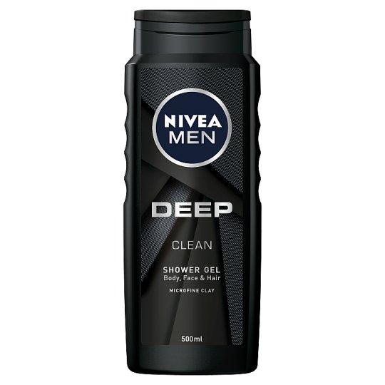 NIVEA MEN Deep Body Face & Hair Shower Gel 500 ml