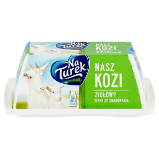 NaTurek Nasz Kozi Herbal Spreads Cheese 150 g