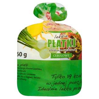 Lekkie płatki zbożowo-ryżowe cebulowe 55 g (10 sztuk)