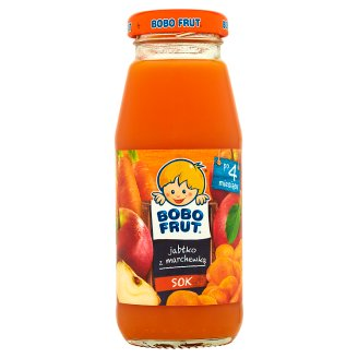 Bobo Frut Juice Apple with Carrot after 4 Months Onwards 175 ml