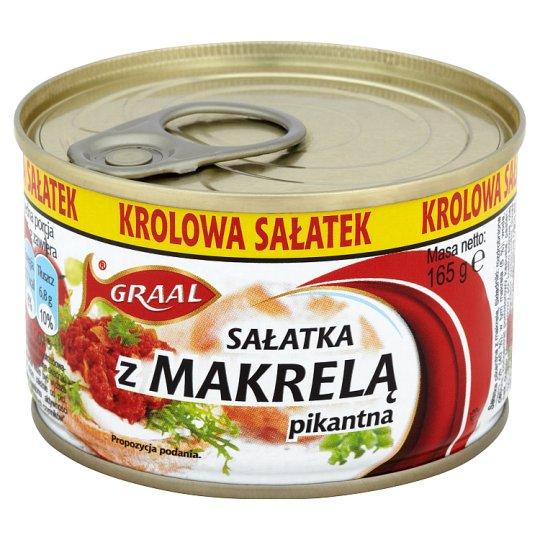 GRAAL Spicy Salad with Mackerel 165 g