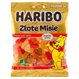 Haribo Złote misie Żelki owocowe 200 g