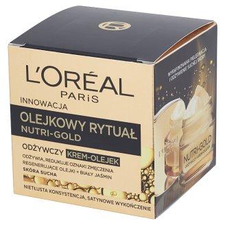 L'Oreal Paris Nutri-Gold Olejkowy Rytuał Odżywczy krem-olejek skóra sucha 50 ml