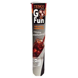 Tesco Go for Fun Cola Flavoured Water Ice Cream 115 g