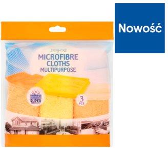 Tesco Multipurpose Microfibre Cloths 3 Pieces