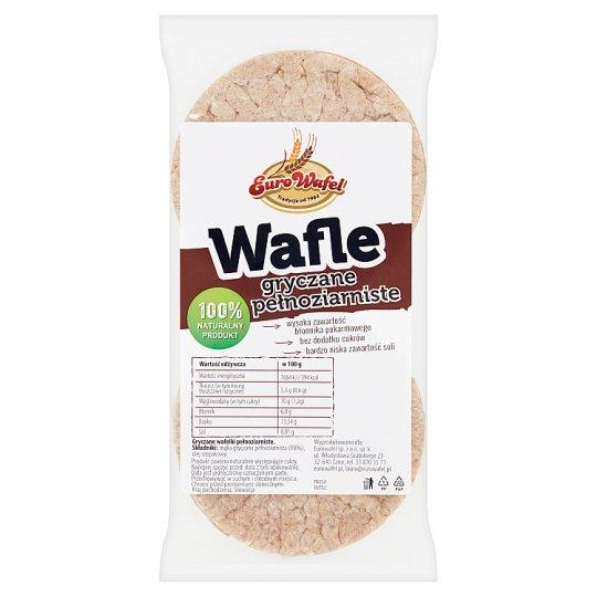 Eurowafel Wholegrain Buckwheat Wafers 50 g