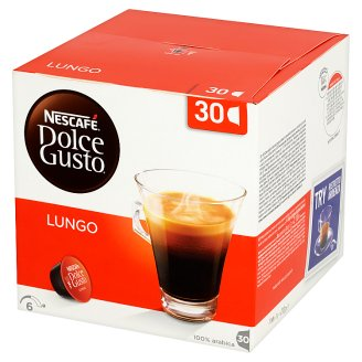Nescafé Dolce Gusto Lungo Coffee Capsules 210 g (30 Pieces)