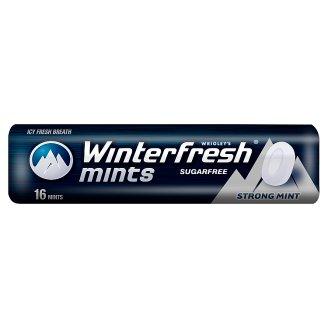 Winterfresh Strong Mints Miętusy bez cukru 28 g (16 miętusów)