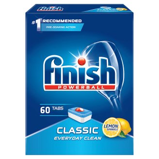 Finish Classic Lemon Dishwasher Detergent in Tabs 978 g (60 Pieces)