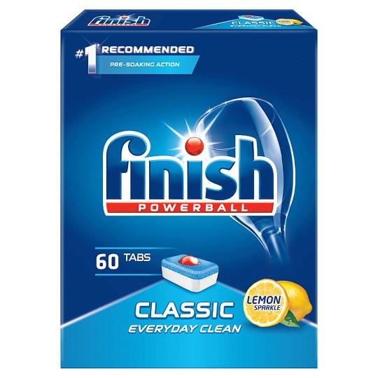 Finish Classic Lemon Tabletki do zmywarki 978 g (60 sztuk)