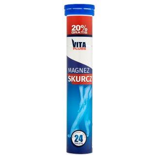 Vita Pluss Magnez Skurcz Effervescent Tablets Dietary Supplement 96 g (24 Tablets)