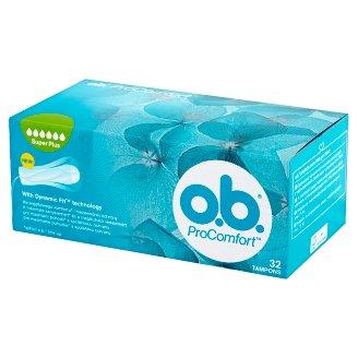 O.B. ProComfort Super Plus Tampons 32 Pieces