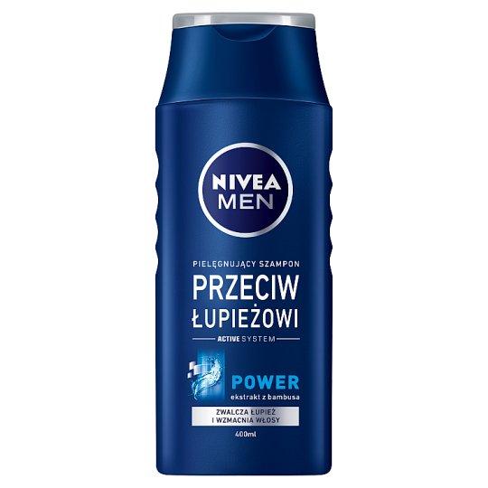 NIVEA MEN Power Szampon przeciwłupieżowy wzmacniający 400 ml