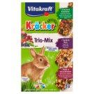 Vitakraft Kräcker Trio-Mix Compound Pet Food for Guinea Rabbit 168 g (3 Pieces)