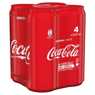 Coca-Cola Drink 4 x 330 ml