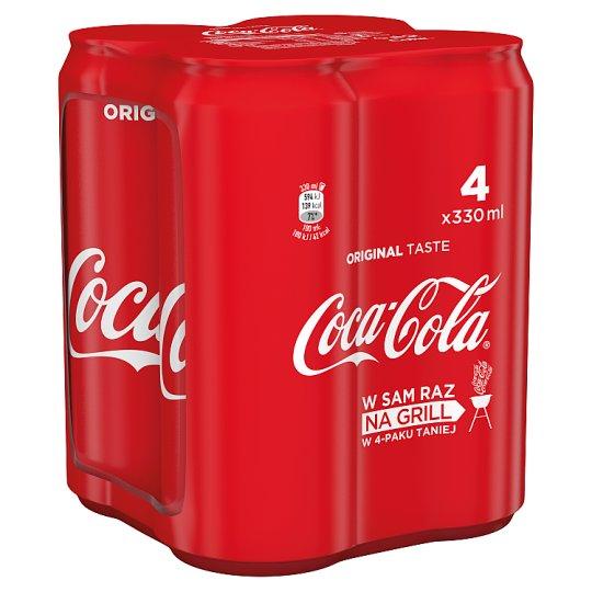 Coca-Cola Drink 4 x 330 ml