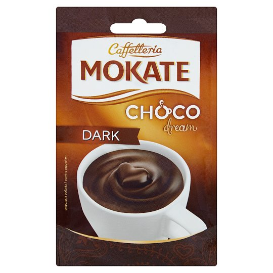 Mokate Caffetteria Choco Dream Dark Chocolate Flavour Drink in Powder 25 g