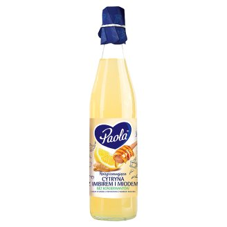 Paola Lemon with Ginger and Honey Flavoured Syrup 430 ml