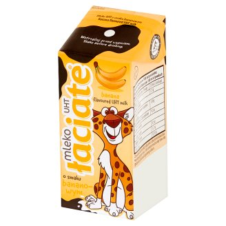 Łaciate Banana Flavoured UHT Milk 200 ml