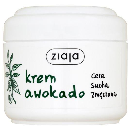 Ziaja Avocado Cream for Dry Tired Skin 75 ml