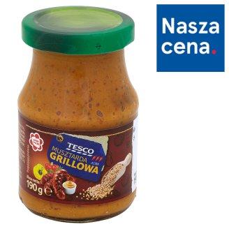 Tesco Musztarda grillowa ostra 190 g