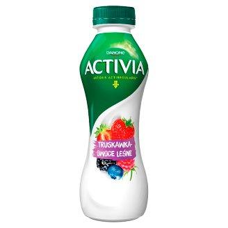 Danone Activia Truskawka owoce leśne Jogurt 300 g