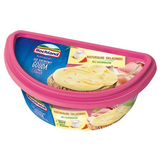 Hochland Cream Cheese Gouda with Ham and Onion 140 g