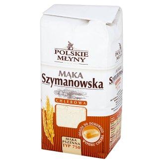 Polskie Młyny Szymanowska Flour Bread Wheat Type 750 1 kg