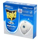 Raid Night & Day Mosquitoes Flies and Ants Refill for Electric Diffuser