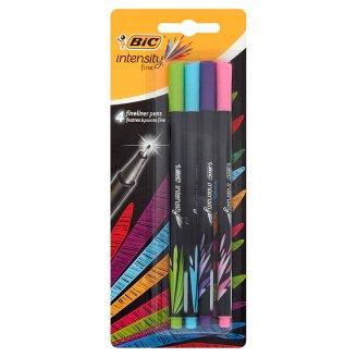 BiC Intensity Fine Cienkopisy miks kolorów 4 sztuki