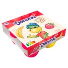 Danone Danonki Mega Raspberry Banana Cottage Cheese 360 g (4 Pieces)