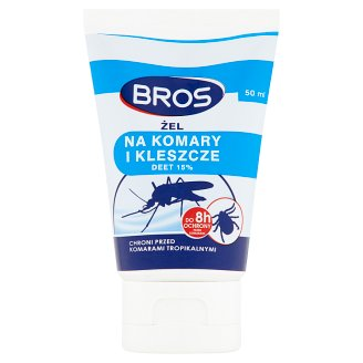 Bros Anti Mosquitoes and Ticks Gel 50 ml