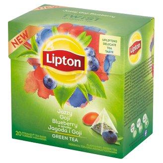 Lipton Jazzy Goji Blueberry Green Tea 28 g (20 Tea Bags)