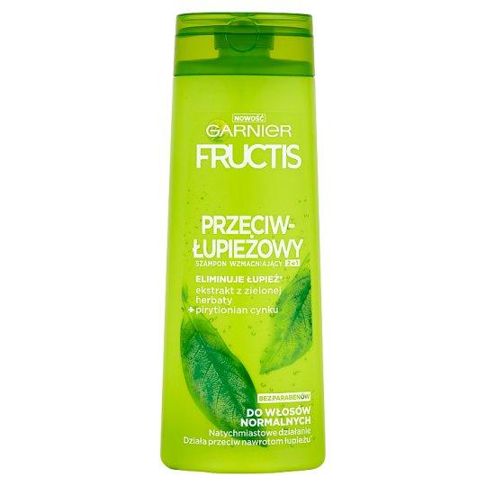 Garnier Fructis Przeciwłupieżowy Szampon wzmacniający 2w1 do włosów normalnych 400 ml
